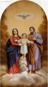 Bellotti  sec.XIX secolo  Sacra Famiglia