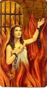 dama nel purgatorio