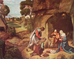 13 Giorgione - Natività allendale