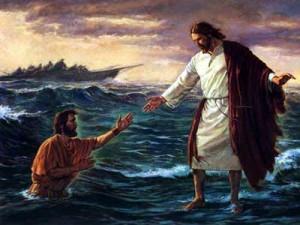 Gesù cammina sulle acque 2