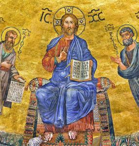 Gesù re dell'universo 1