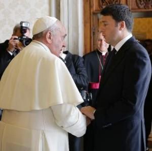 Papa e Renzi OK n