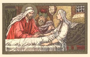 Gesù guorisce suocera Pietro