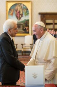 Papa e Mattarella
