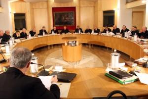 ROMA 22-03-2010 CONSIGLIO PERMANENTE C.E.I. PROLUSIONE  CARD.ANGELO BAGNASCO PH:ALESSIO PETRUCCI