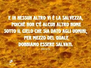 """Chiesa Cristiana Evangelica                    """"l'Opera Nuova"""" Potenza  tel. 0971-57790       Pastore RaffaeleTammontel.0971-472248"""