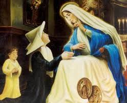 Apparizione Madonna a . Caterinas