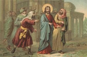 Gesù sul monte per essere precipitato_0