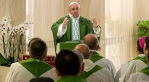 Papa Francesco a S. Marta