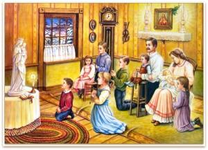 S. Rosario in famiglia