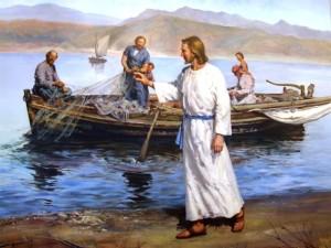 Gesù sul lago di Tiberiade