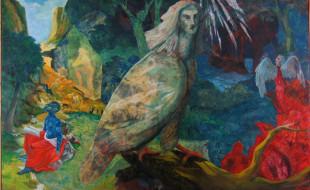 MarioTessari-1986-le-tentazioni-di-Antonio-tela-olio-cm250x140