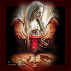 Sangue di Gesù con Maria