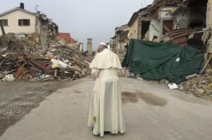 papa terremoto amatrice
